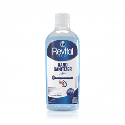 Revital hand sanitizer Gel Aqua liquid 60ml in Rwanda, Kenya, Burundi, Tanzania, Zambia, Malawi, Zimbabwe, Mozambique
